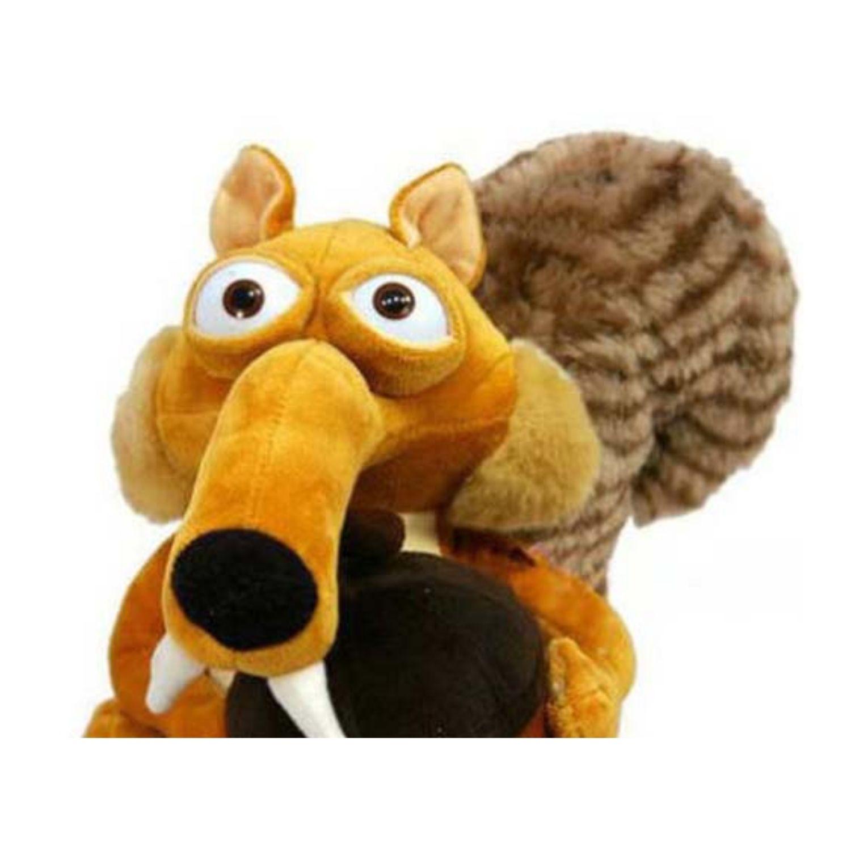 Boneco de Pelucia Scrat o Esquilo da Era do Gelo  - Game Land Brinquedos