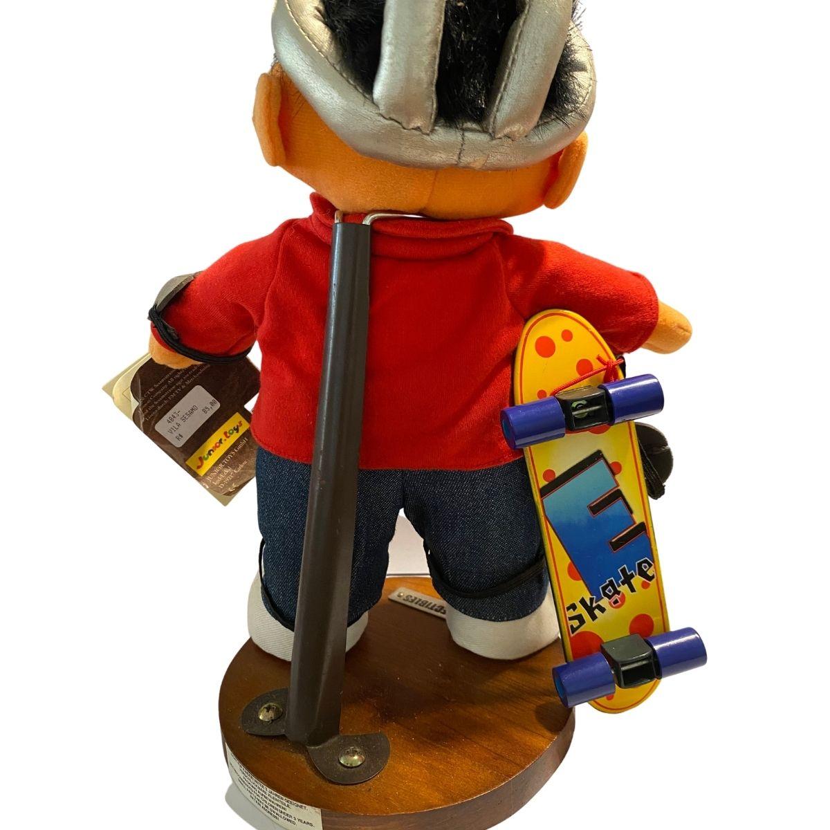 Boneco Enio Vila Sesamo Skatista Colecionável  - Game Land Brinquedos