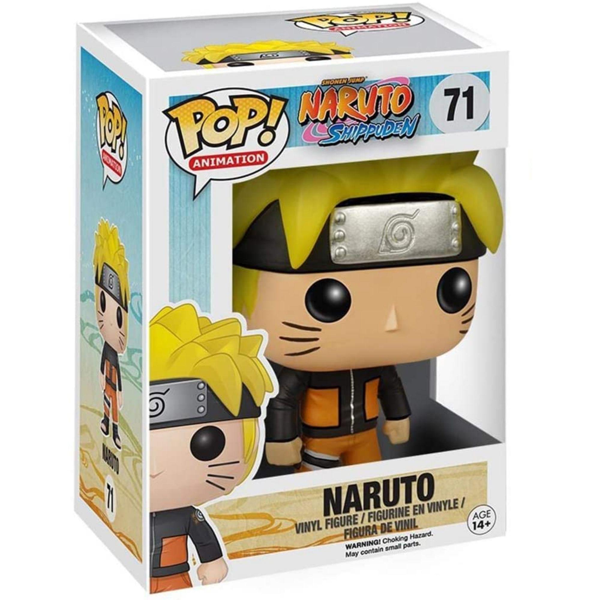 Boneco Funko Pop Anime Naruto Shippuden #71  - Game Land Brinquedos
