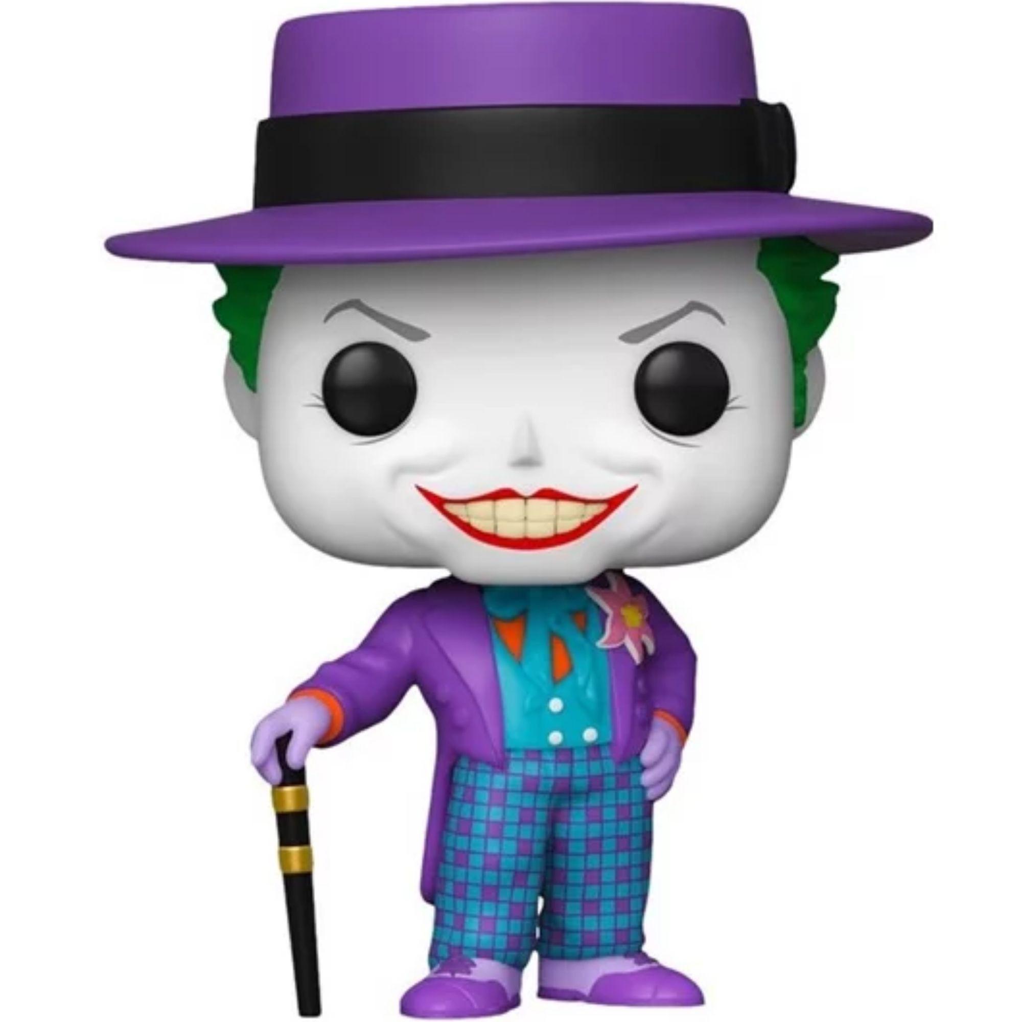 Boneco Funko Pop Batman Coringa The Joker 1989 #337  - Game Land Brinquedos