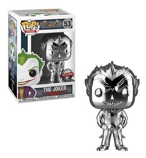 Boneco Funko Pop Coringa Cromado The Joker Batman  - Game Land Brinquedos