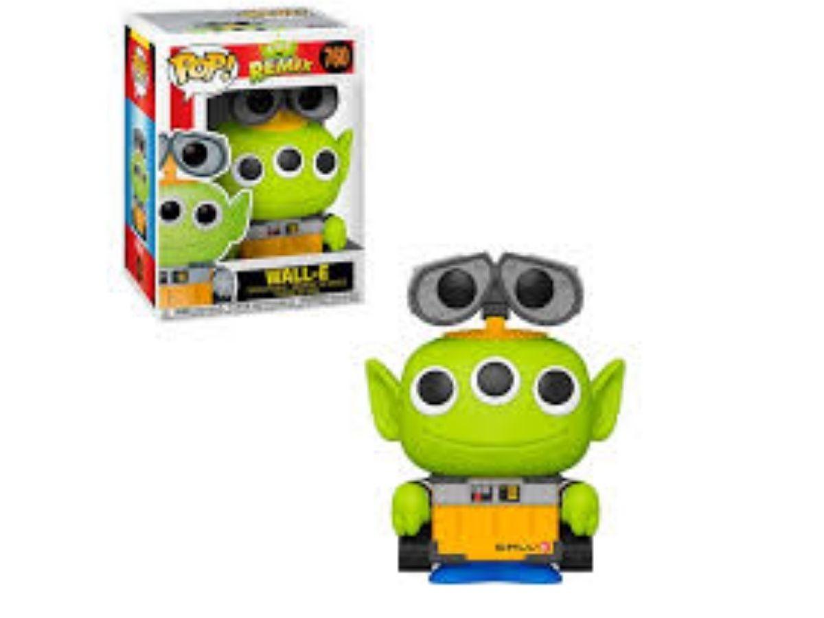 Boneco Funko Pop Disney Pixar Alien Remix Wall-e #760  - Game Land Brinquedos