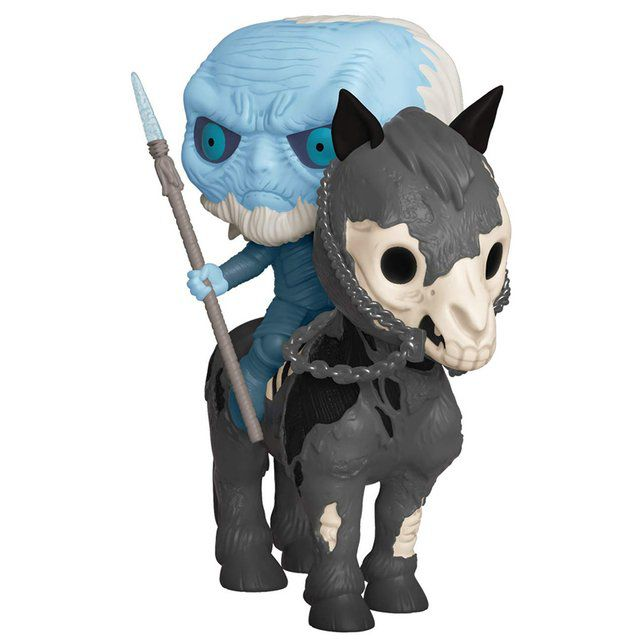 Boneco Funko Pop Game Of Thrones Mounted White Walker  - Game Land Brinquedos