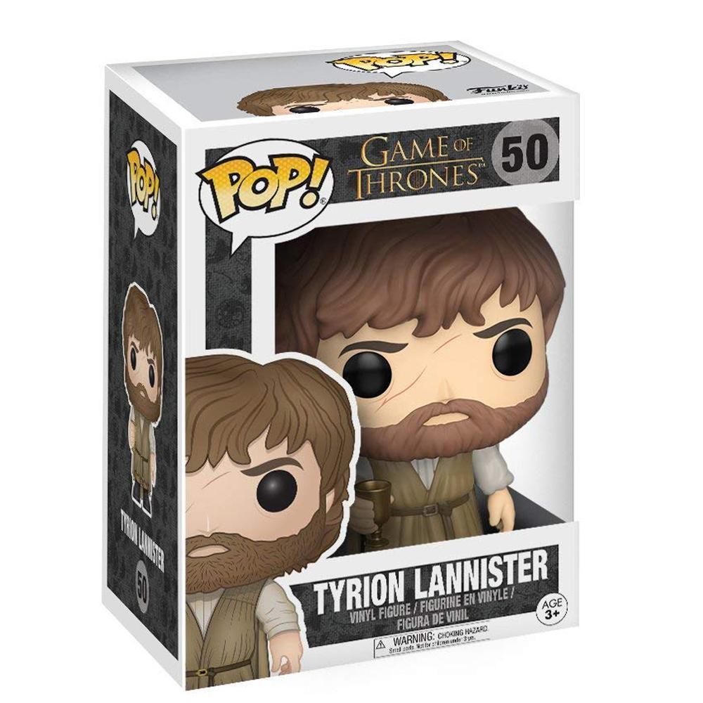 Boneco Funko Pop Game Of Thrones Tyrion Lannister 50  - Game Land Brinquedos