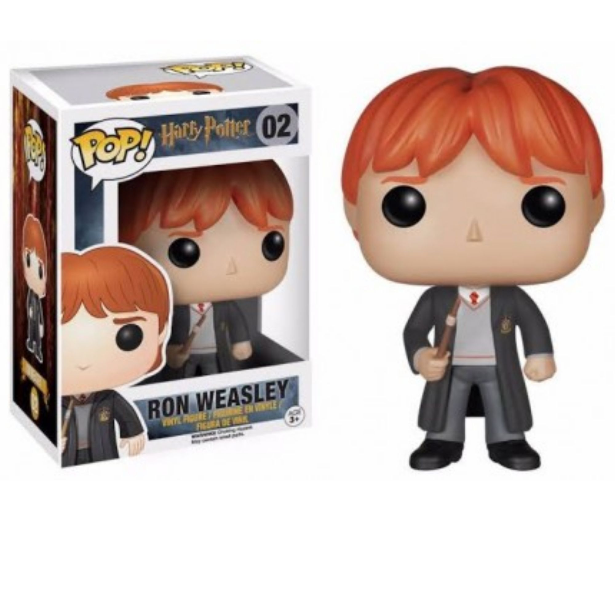 Boneco Funko Pop Harry Potter Ron Weasley #02 - Game Land Brinquedos