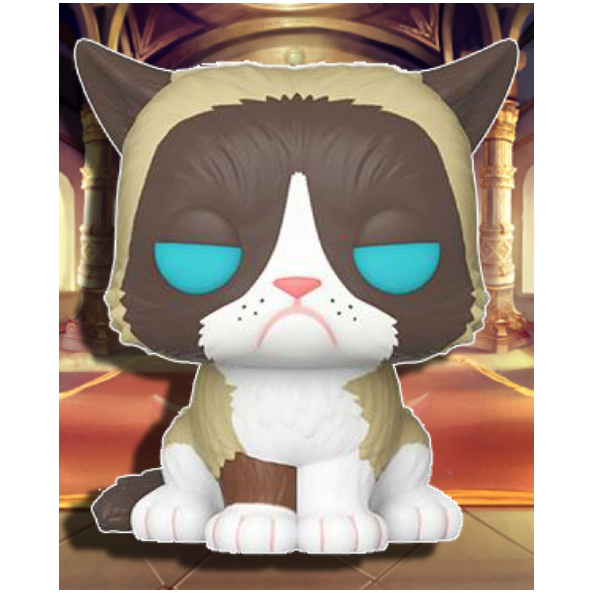 Boneco Funko Pop Icons Grumpy Cat Gata Rabugenta #60  - Game Land Brinquedos
