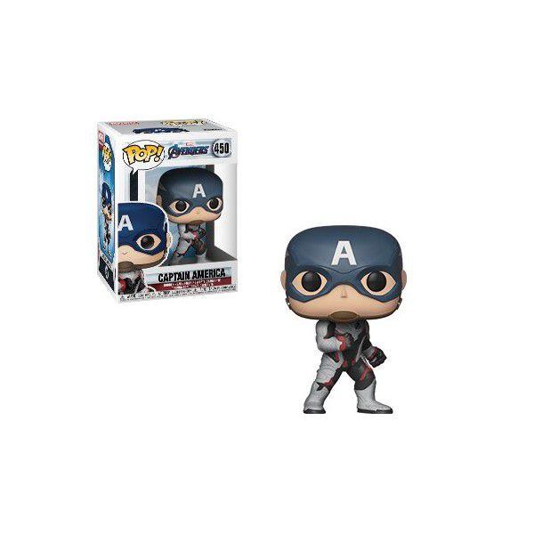Boneco Funko Pop Marvel Avengers Capitão America  - Game Land Brinquedos