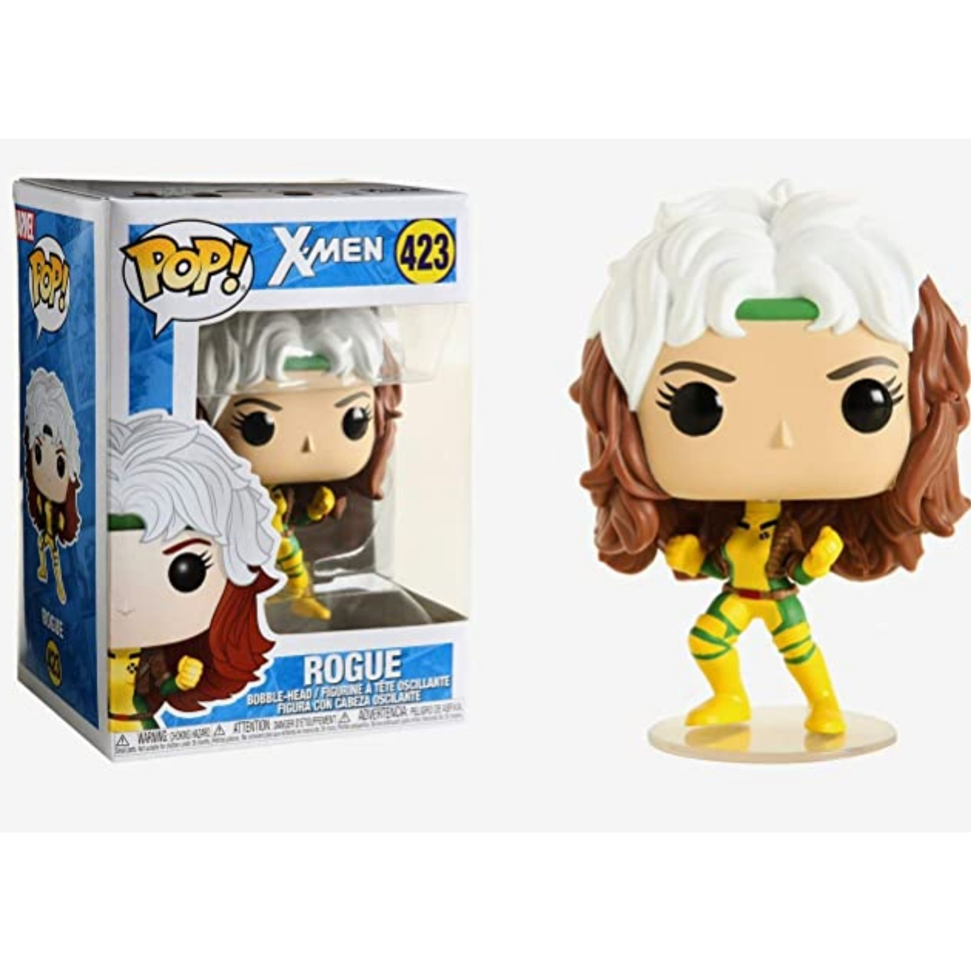 Boneco Funko Pop Marvel Rogue X-Men #423  - Game Land Brinquedos