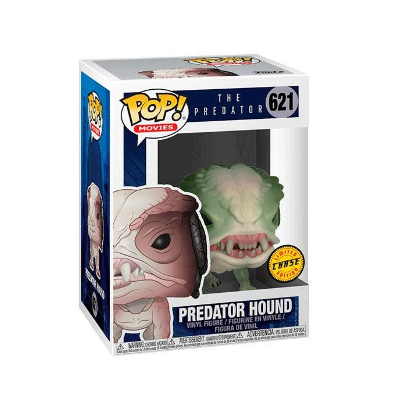 Boneco Funko Pop Movie Predator Hound #621 Predador Chase  - Game Land Brinquedos