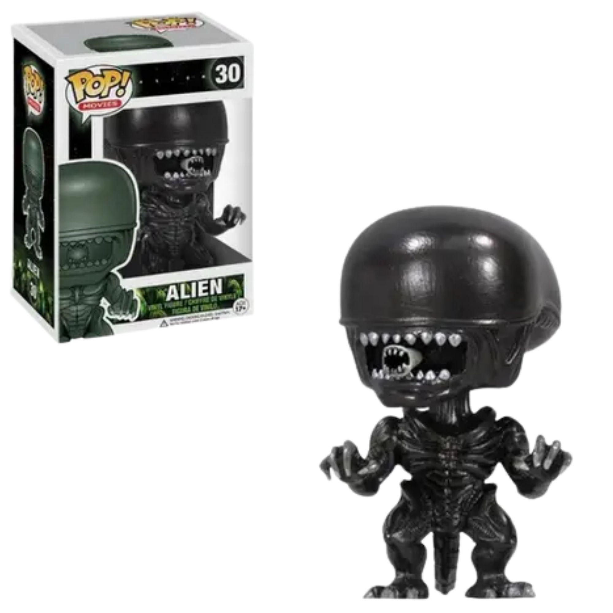 Boneco Funko Pop Movies Alien #30  - Game Land Brinquedos