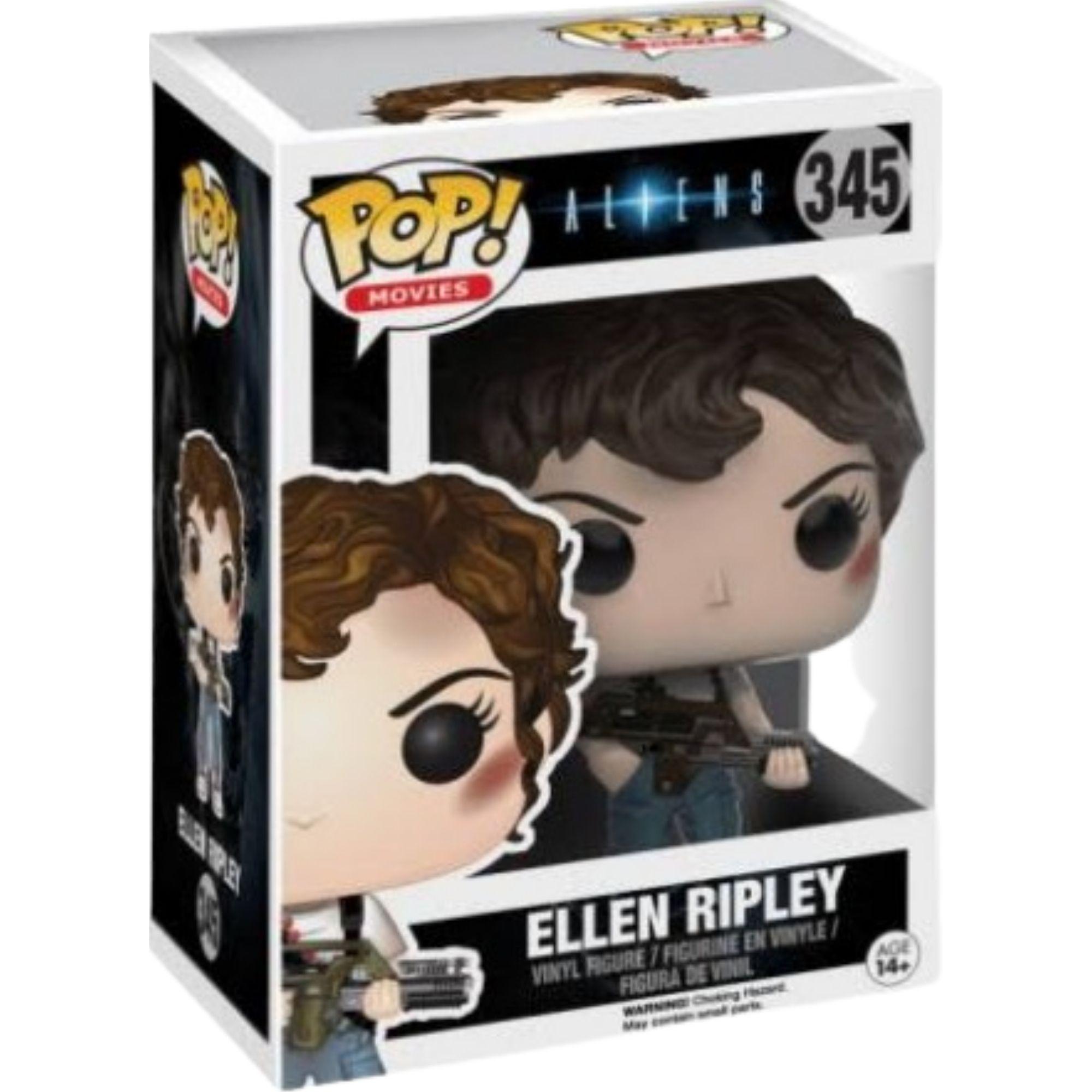 Boneco Funko Pop Movies Alien Ellen Ripley #345  - Game Land Brinquedos