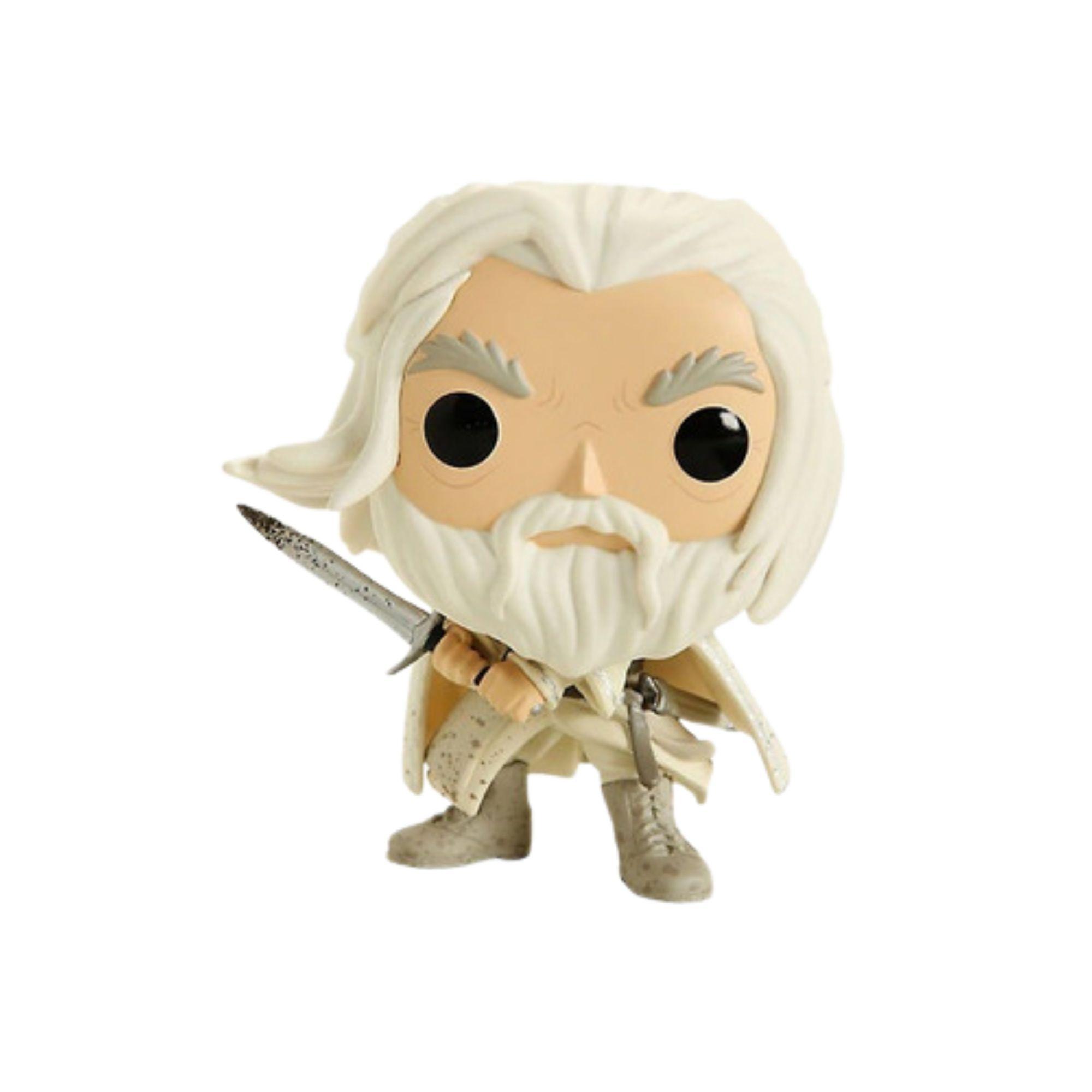 Boneco Funko Pop Senhor dos Anéis Gandalf The White Hot Topic #845  - Game Land Brinquedos