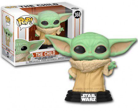 Boneco Funko Pop Star Wars Mandalorian Child Baby Yoda  - Game Land Brinquedos