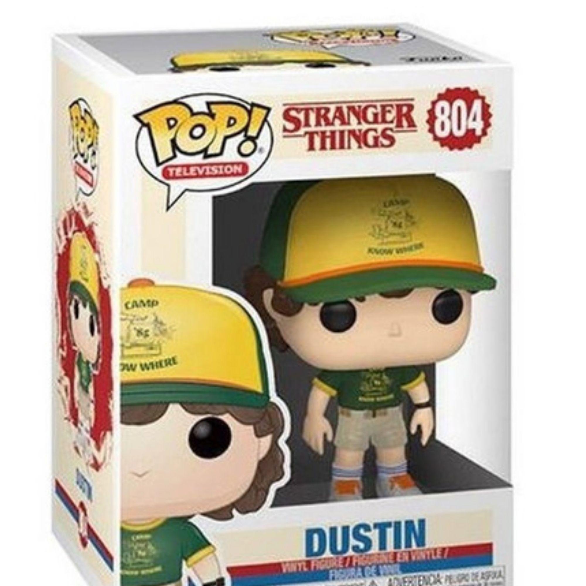 Boneco Funko Pop Stranger Things Dustin #804  - Game Land Brinquedos