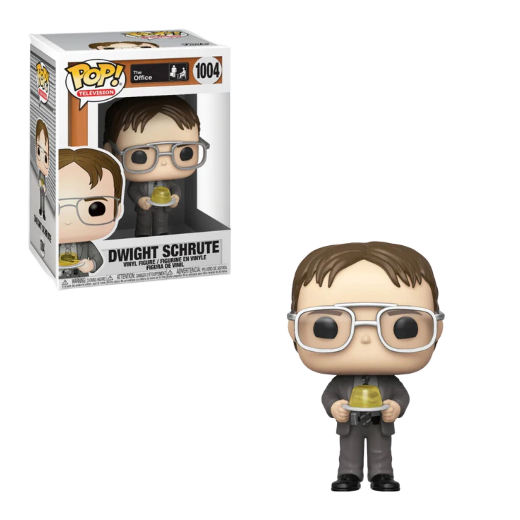Boneco Funko Pop The Office Dwight Schrute #1004  - Game Land Brinquedos