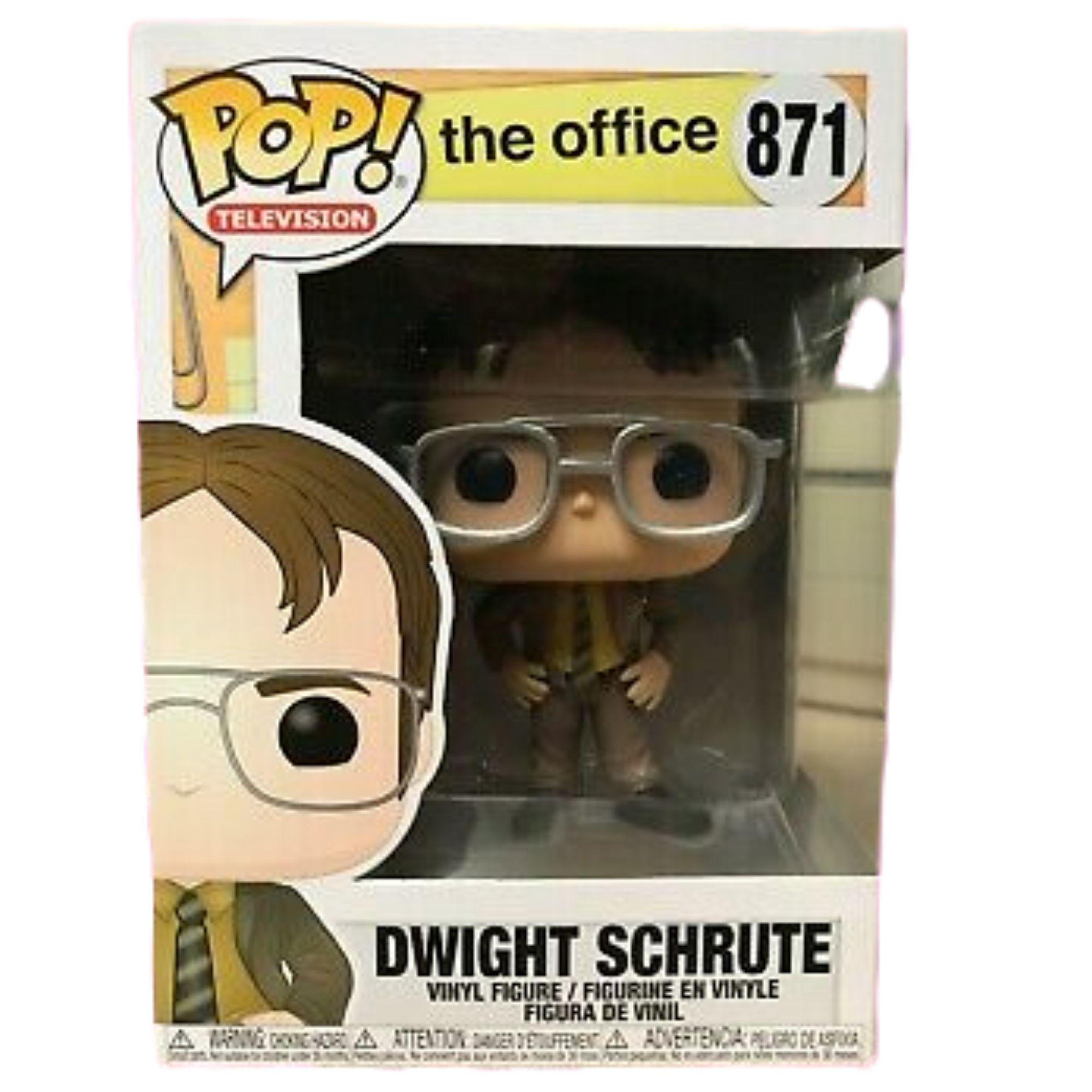 Boneco Funko Pop The Office Dwight Schrute #871  - Game Land Brinquedos