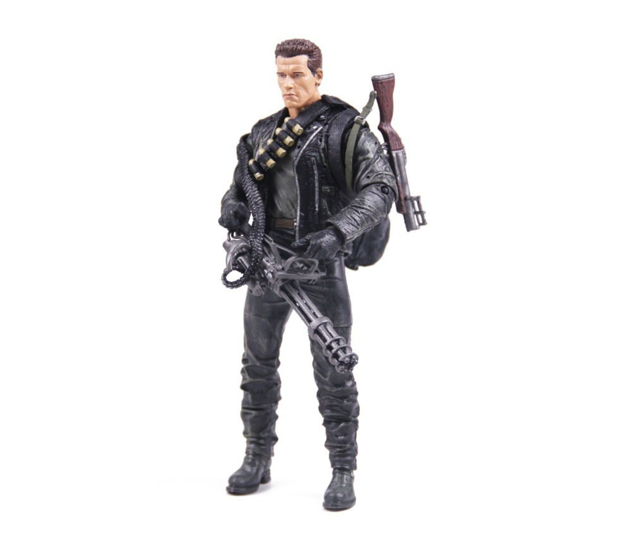 Boneco Terminator T 800 Cyberdyne Showdown Exterminador Neca   - Game Land Brinquedos