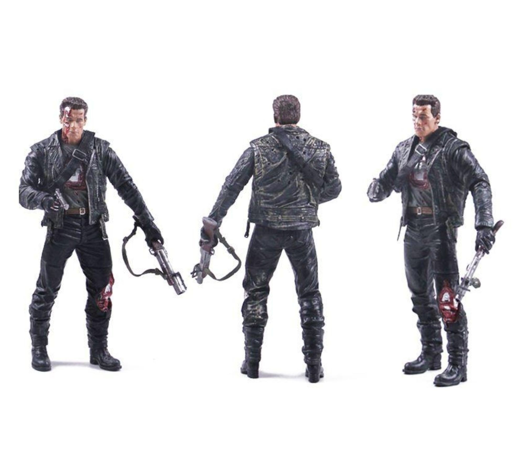 Boneco Terminator T-800 Steel Mill Exterminador do Futuro Neca 18 cm  - Game Land Brinquedos