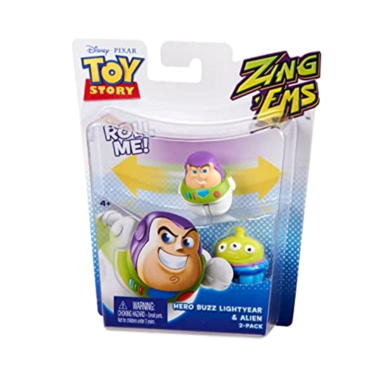 Boneco Toy Story com 2 unidades brinquedo Buzz & Alien  - Game Land Brinquedos