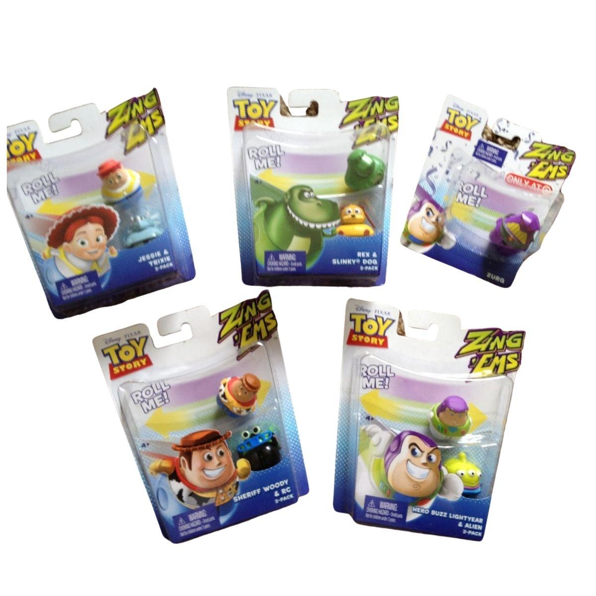 Boneco Toy Story com 2 unidades brinquedo Buzz & Zurg  - Game Land Brinquedos