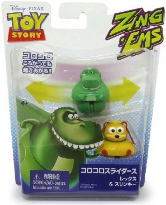 Boneco Toy Story com 2 unidades brinquedo Rex & Slinky Dog  - Game Land Brinquedos