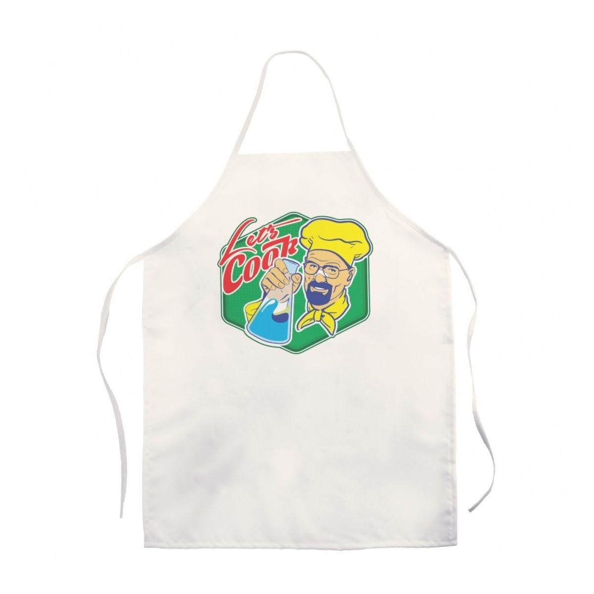 Breaking  Bad Avental de Cozinha Let´s Cook  - Game Land Brinquedos