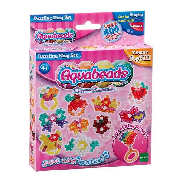 Brinquedo Aquabeads Conjunto Anéis Deslumbrantes Epoch 79278  - Game Land Brinquedos