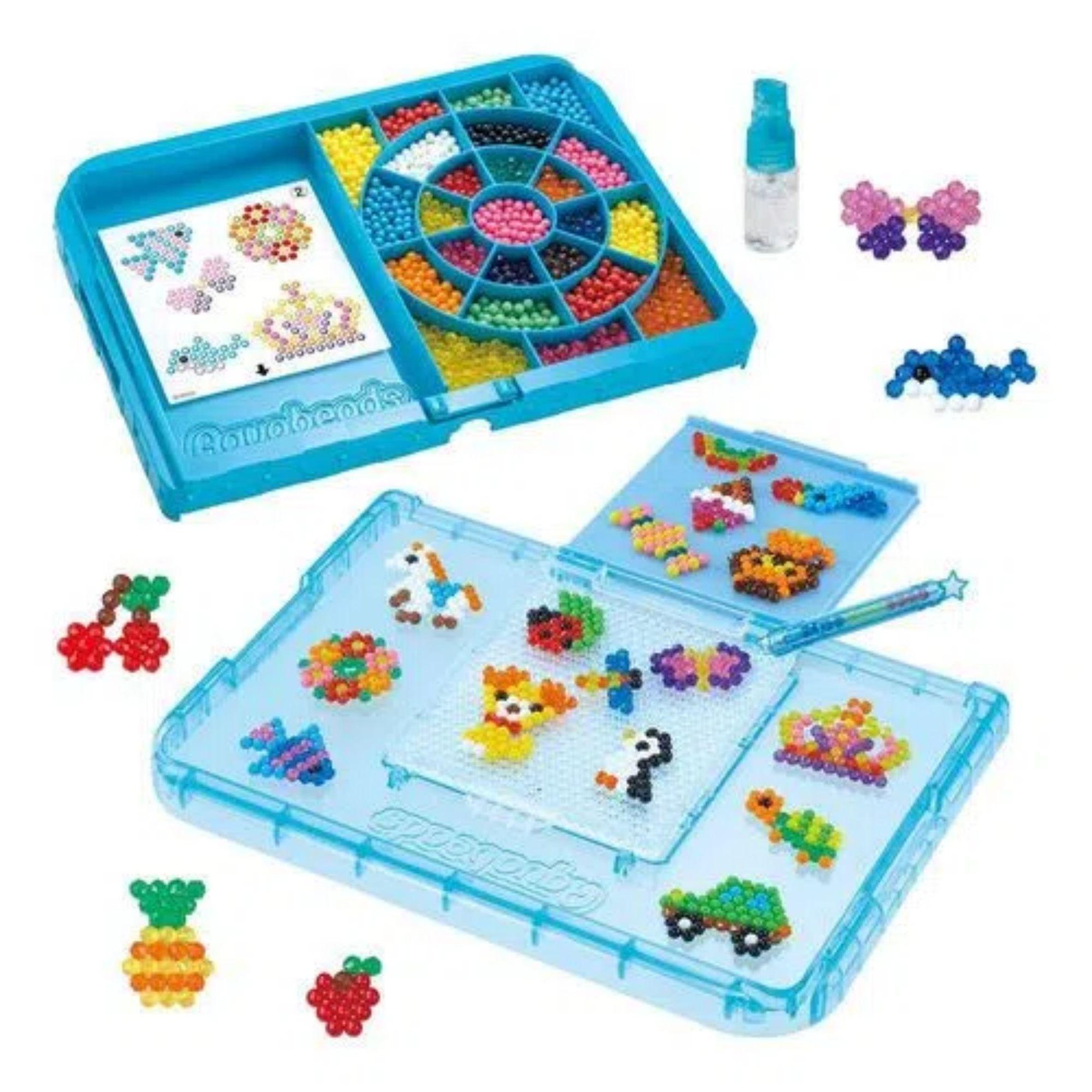 Brinquedo Aquabeads Conjunto Estudio Para Iniciantes Epoch 31380  - Game Land Brinquedos