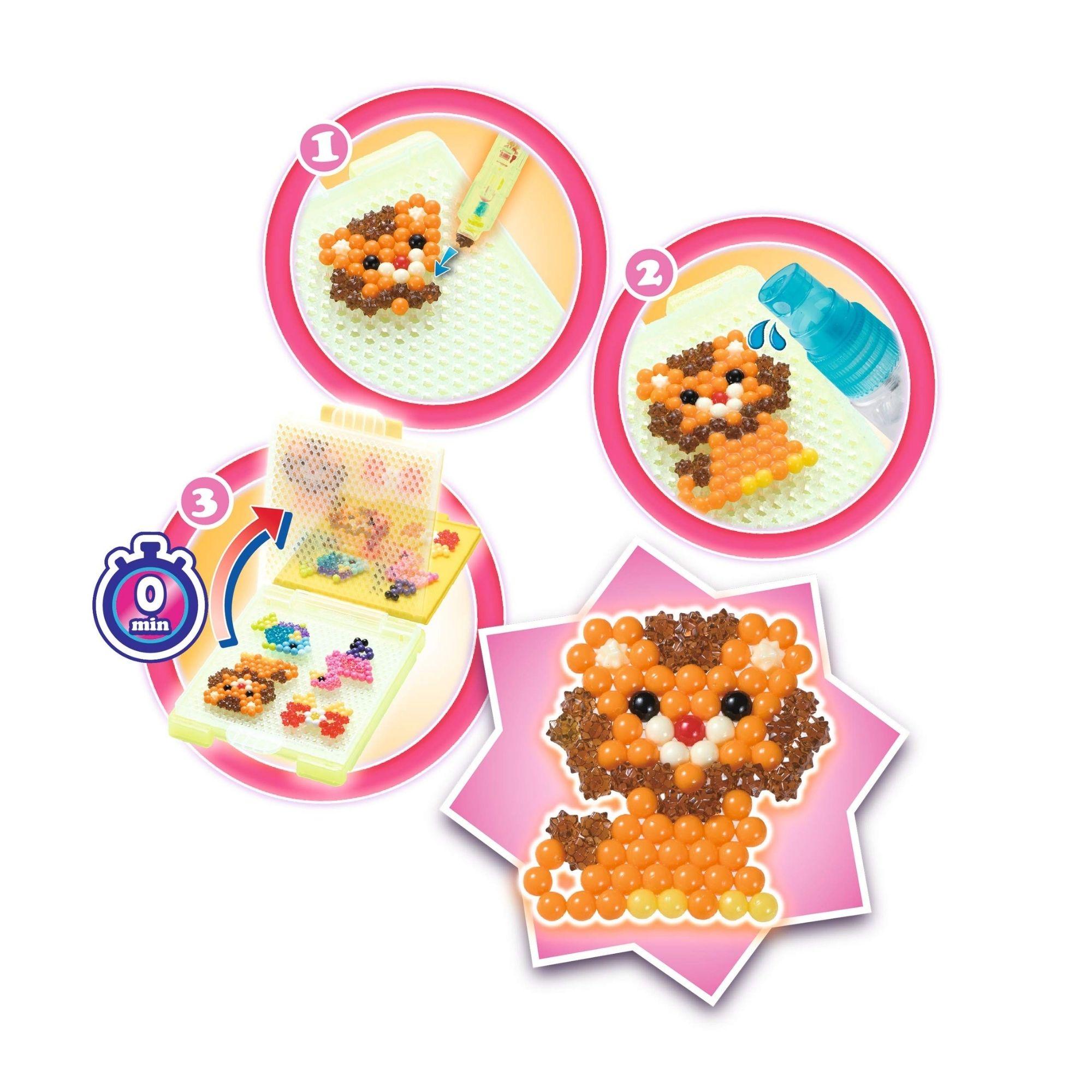 Brinquedo Aquabeads Star Beads  Studio Epoch 31601  - Game Land Brinquedos