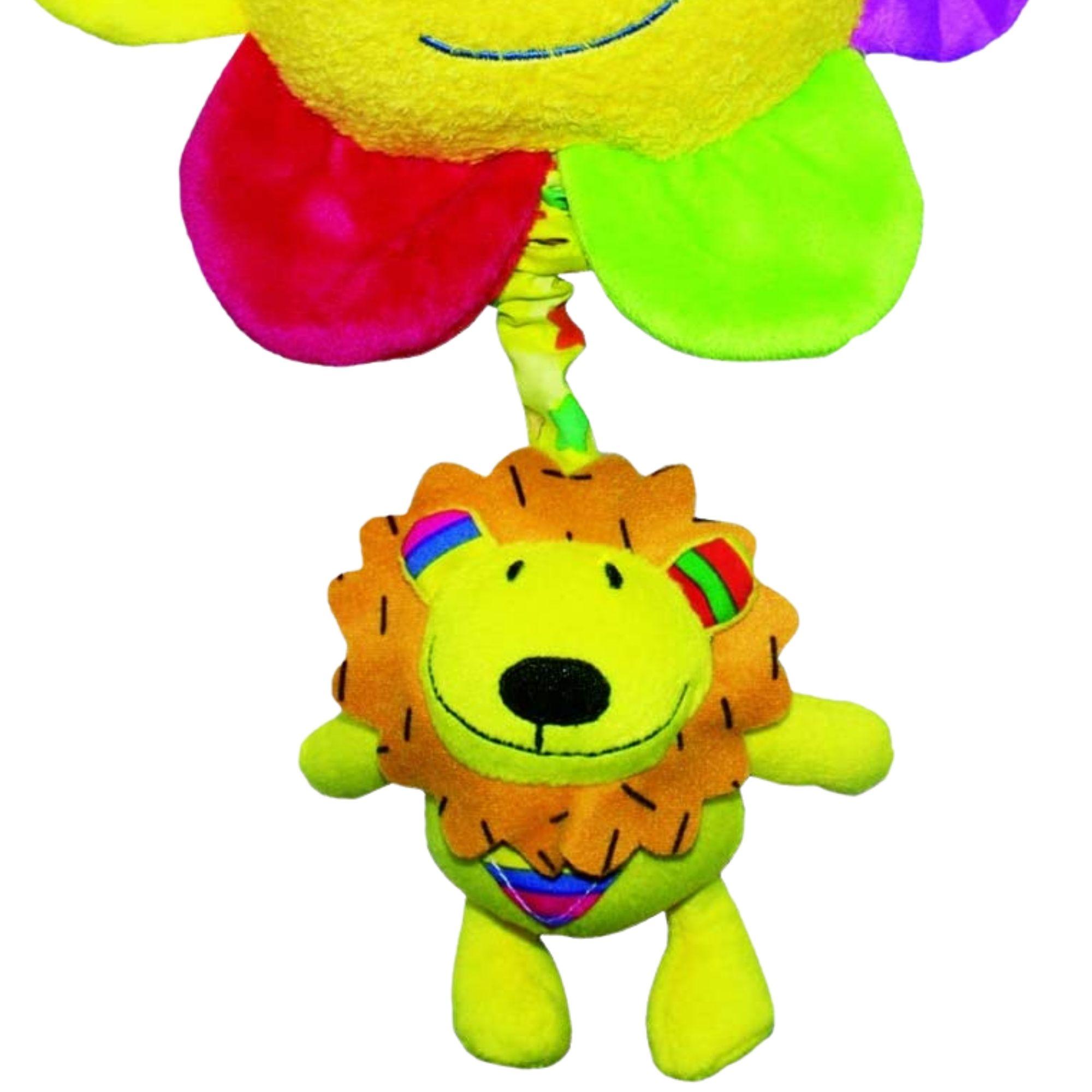 Brinquedo Móbile Musical Leãozinho com Flor Love  - Game Land Brinquedos