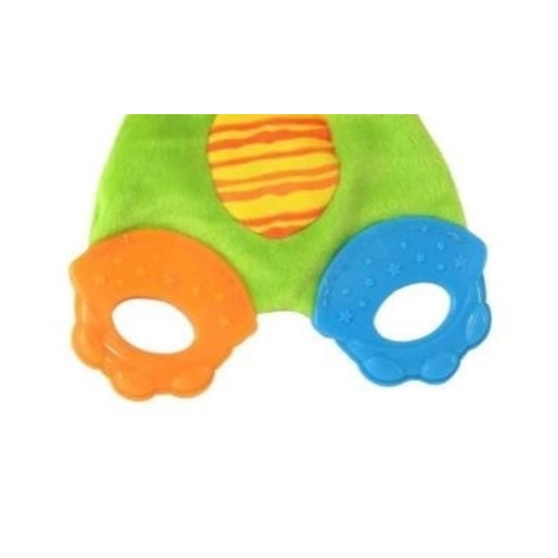 Brinquedo Mordedor para Bebe Leão com Barulhinho  - Game Land Brinquedos