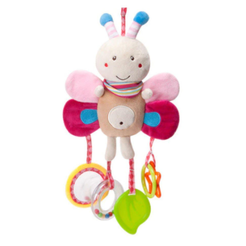Brinquedo para Bebê Chocalho Mordedor Móbile Borboleta  - Game Land Brinquedos