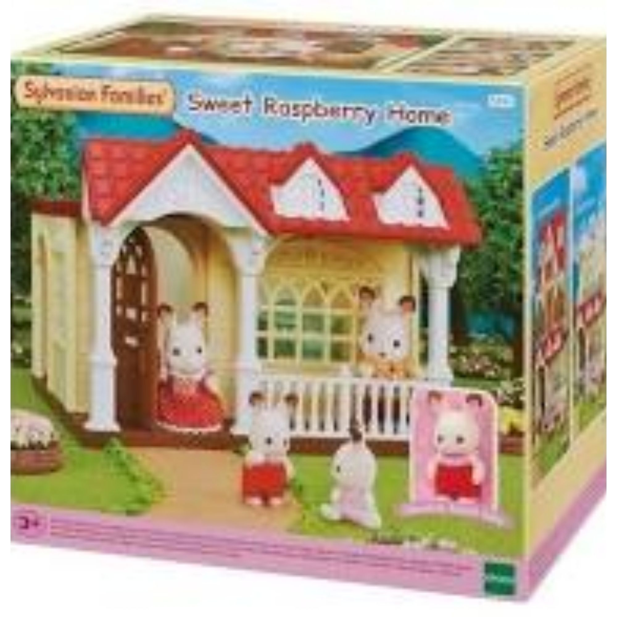 Brinquedo Sylvanian Families Casa Doce Framboesa Epoch 5393  - Game Land Brinquedos