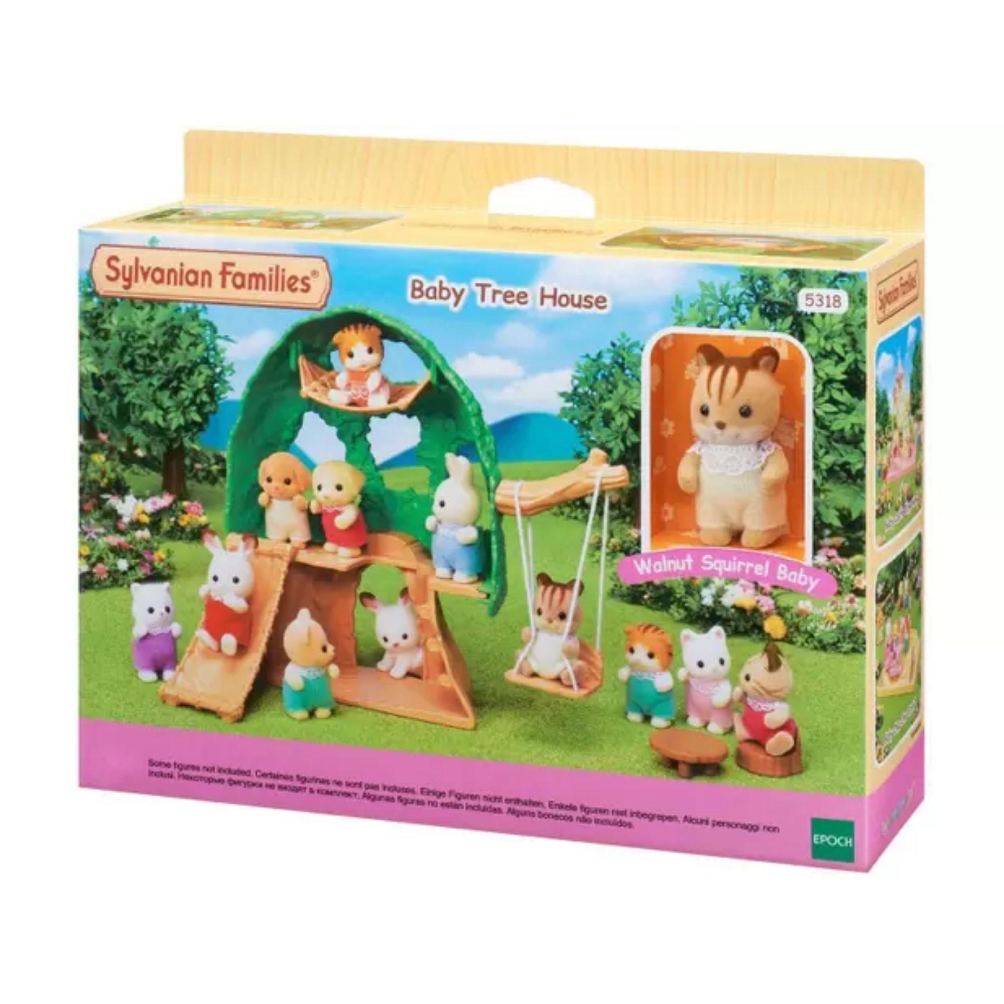 Brinquedo Sylvanian Families Casa na Árvore do Bebê 5318 Epoch  - Game Land Brinquedos