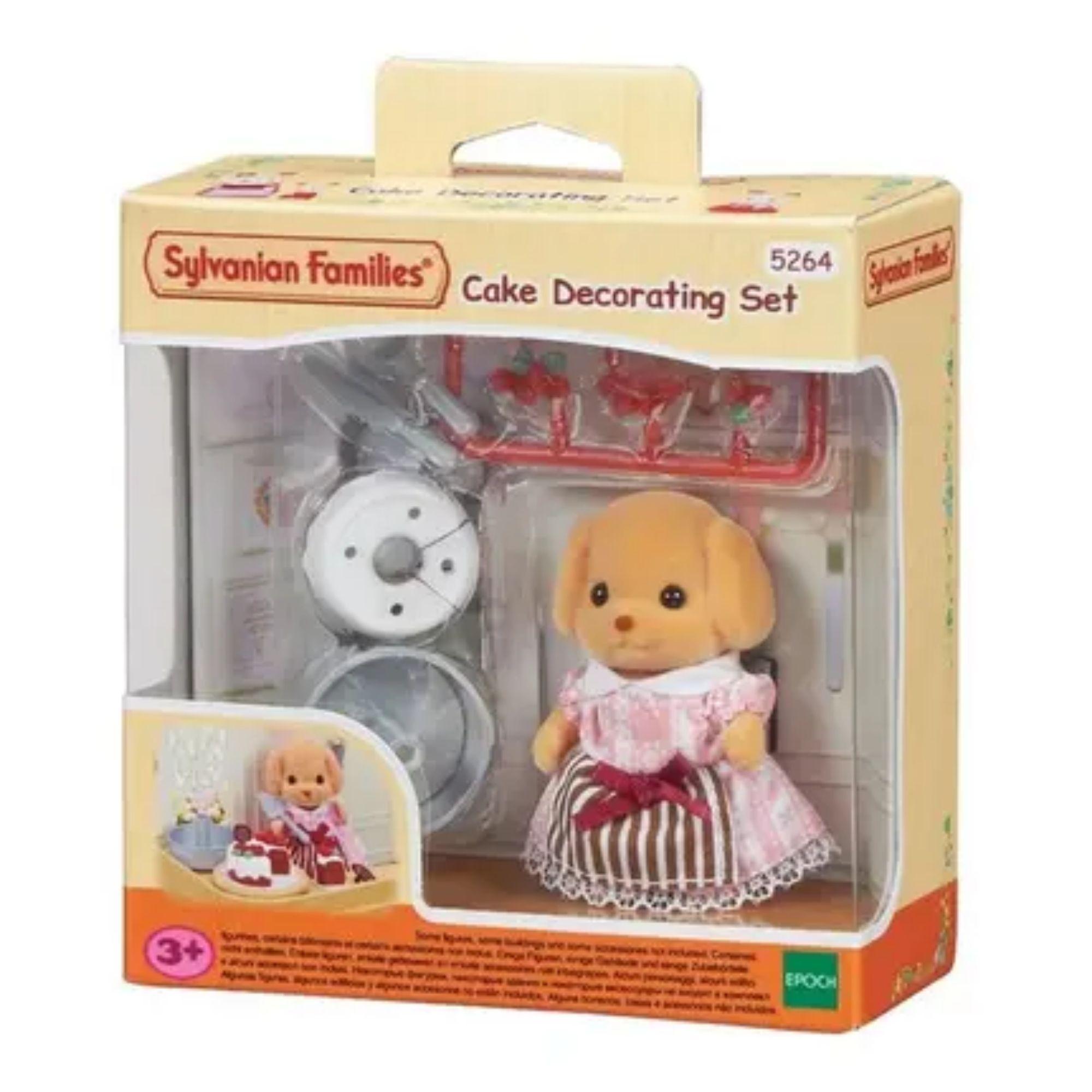 Brinquedo Sylvanian Families Conjunto Decoração de Bolos Epoch  - Game Land Brinquedos