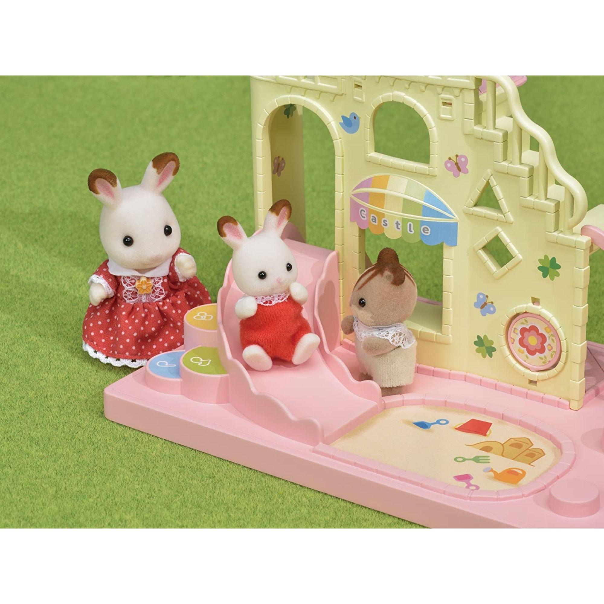 Brinquedo Sylvanian Families Playground do Castelo 5319 Epoch  - Game Land Brinquedos