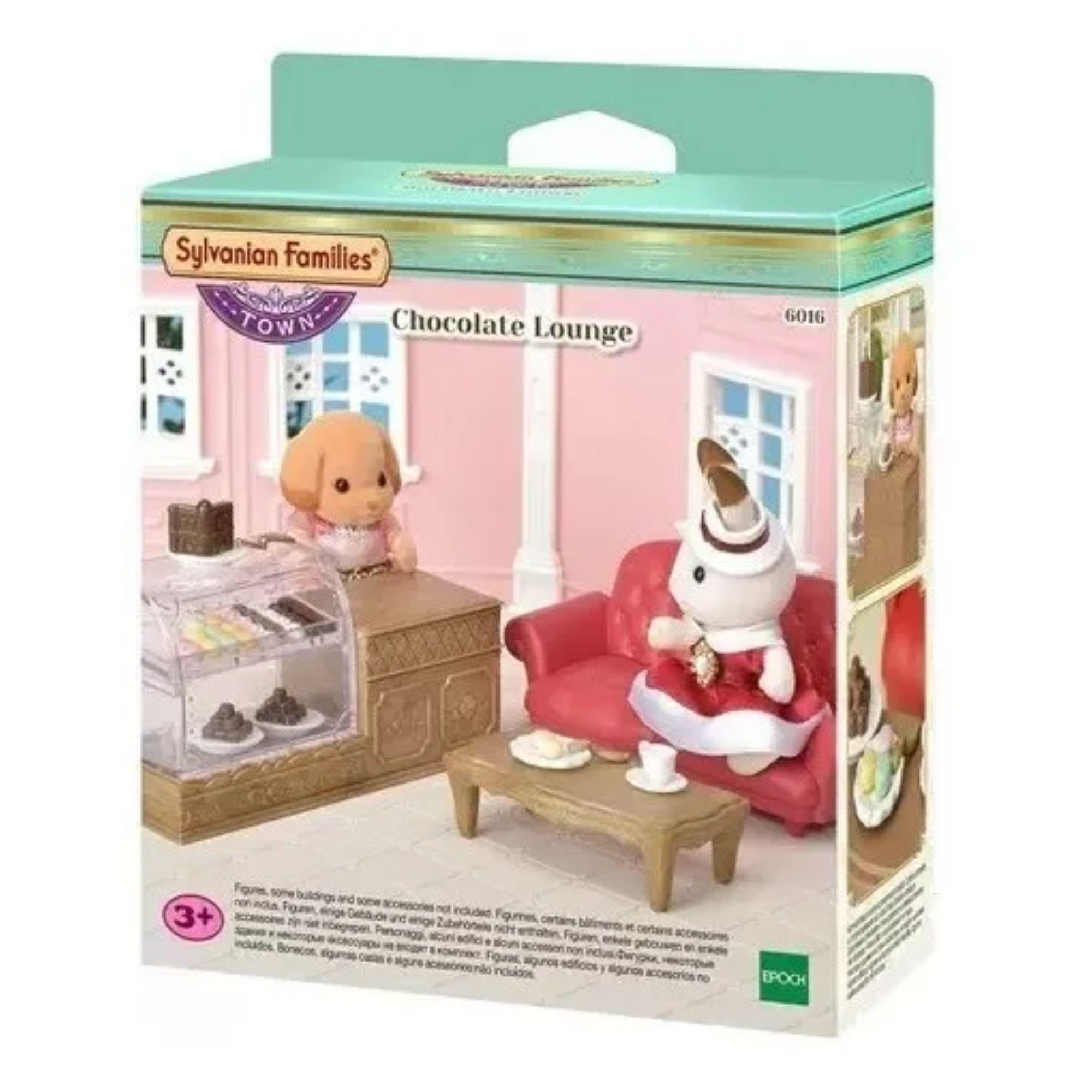 Brinquedo Sylvanian Families Salão de Chocolate Epoch   - Game Land Brinquedos