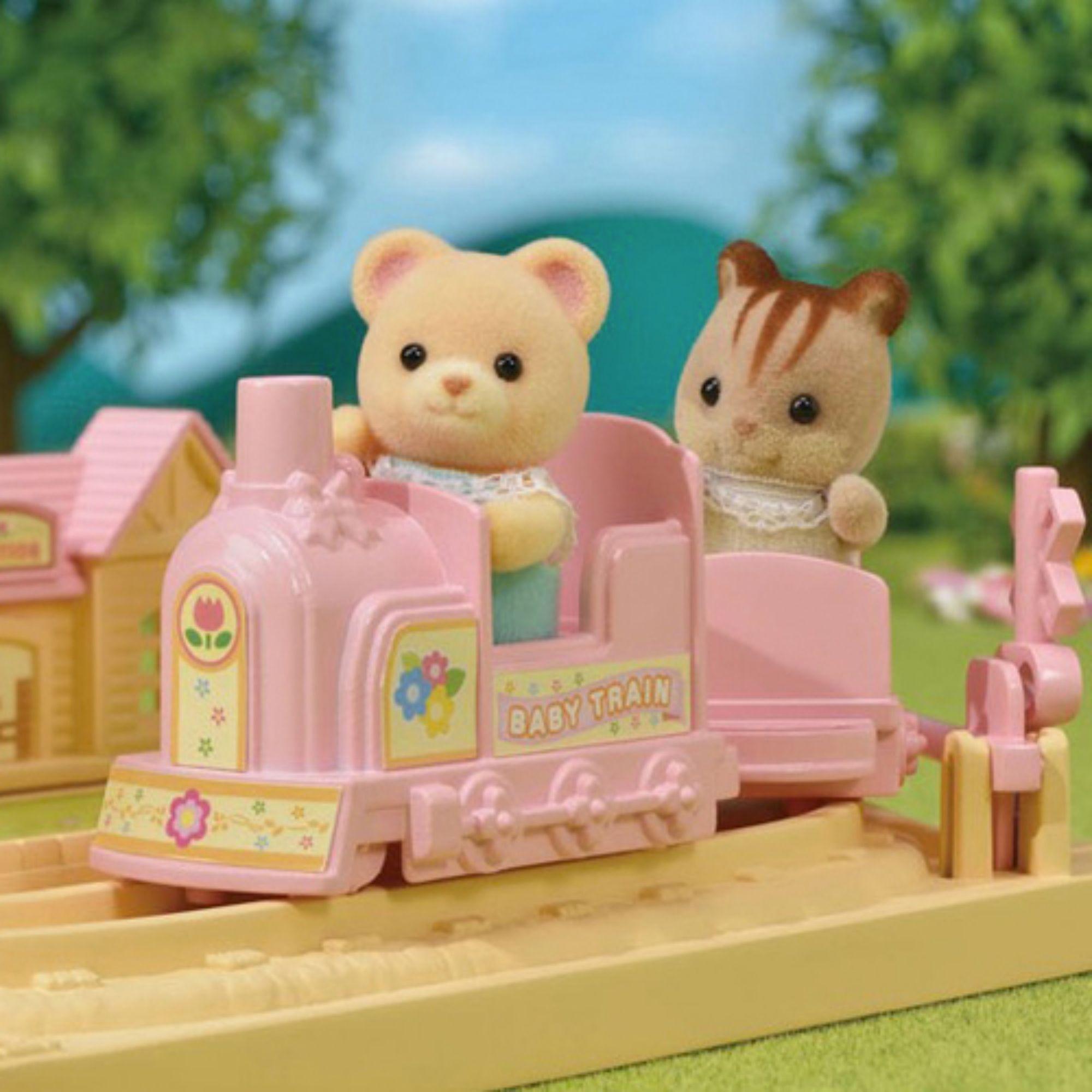 Brinquedo Sylvanian Families Trenzinho do Bebê 5320 Epoch  - Game Land Brinquedos
