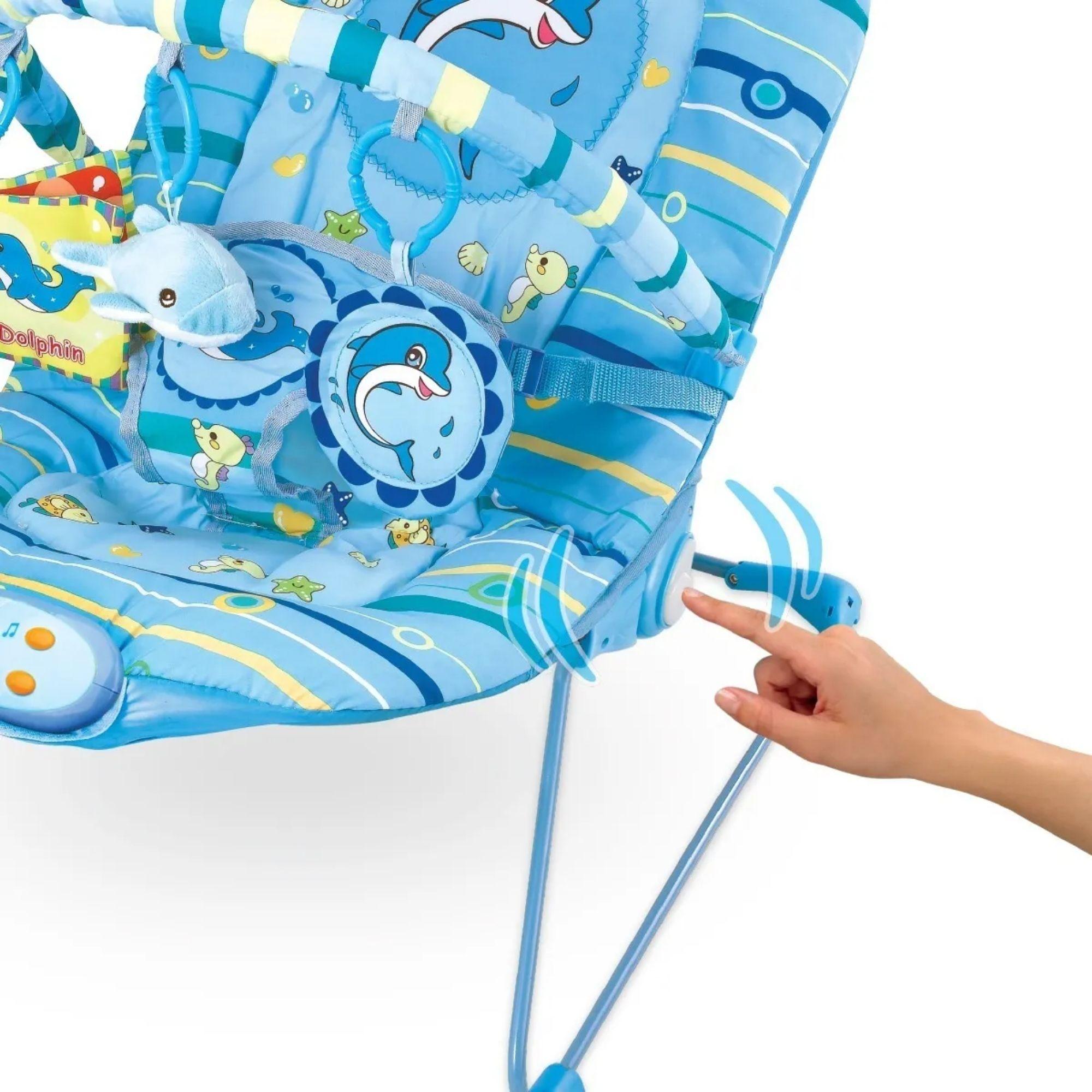 Cadeira de Descanso Musical e Vibratória para Bebê   - Game Land Brinquedos