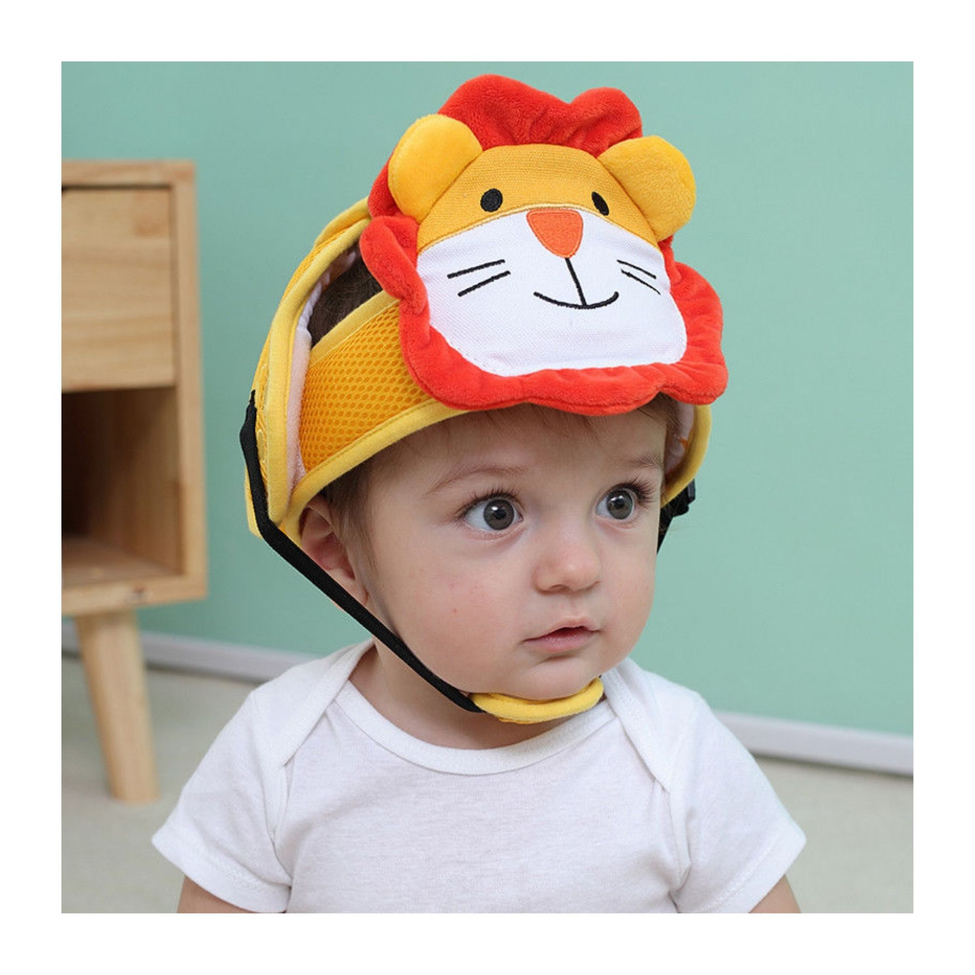 Capacete Proteção Animais para o bebê engatinhar e caminhar  - Game Land Brinquedos