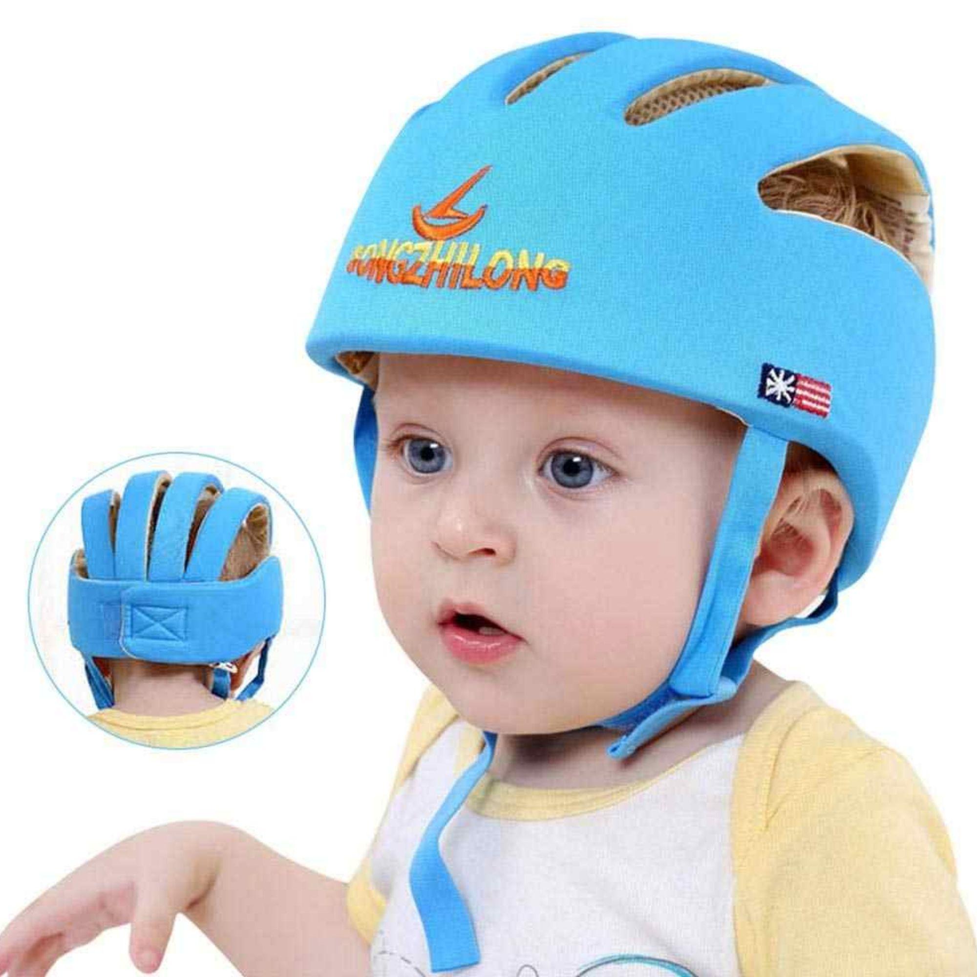 Capacete de Proteção p/ bebês engatinhar e caminhar anti quedas  - Game Land Brinquedos