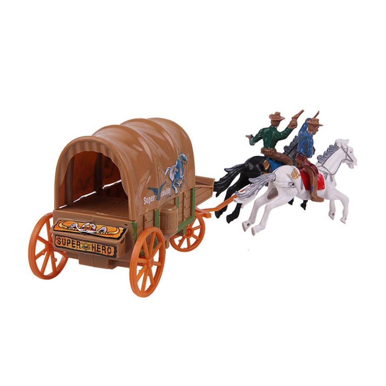 Carroça Tipo Forte Apache   - Game Land Brinquedos