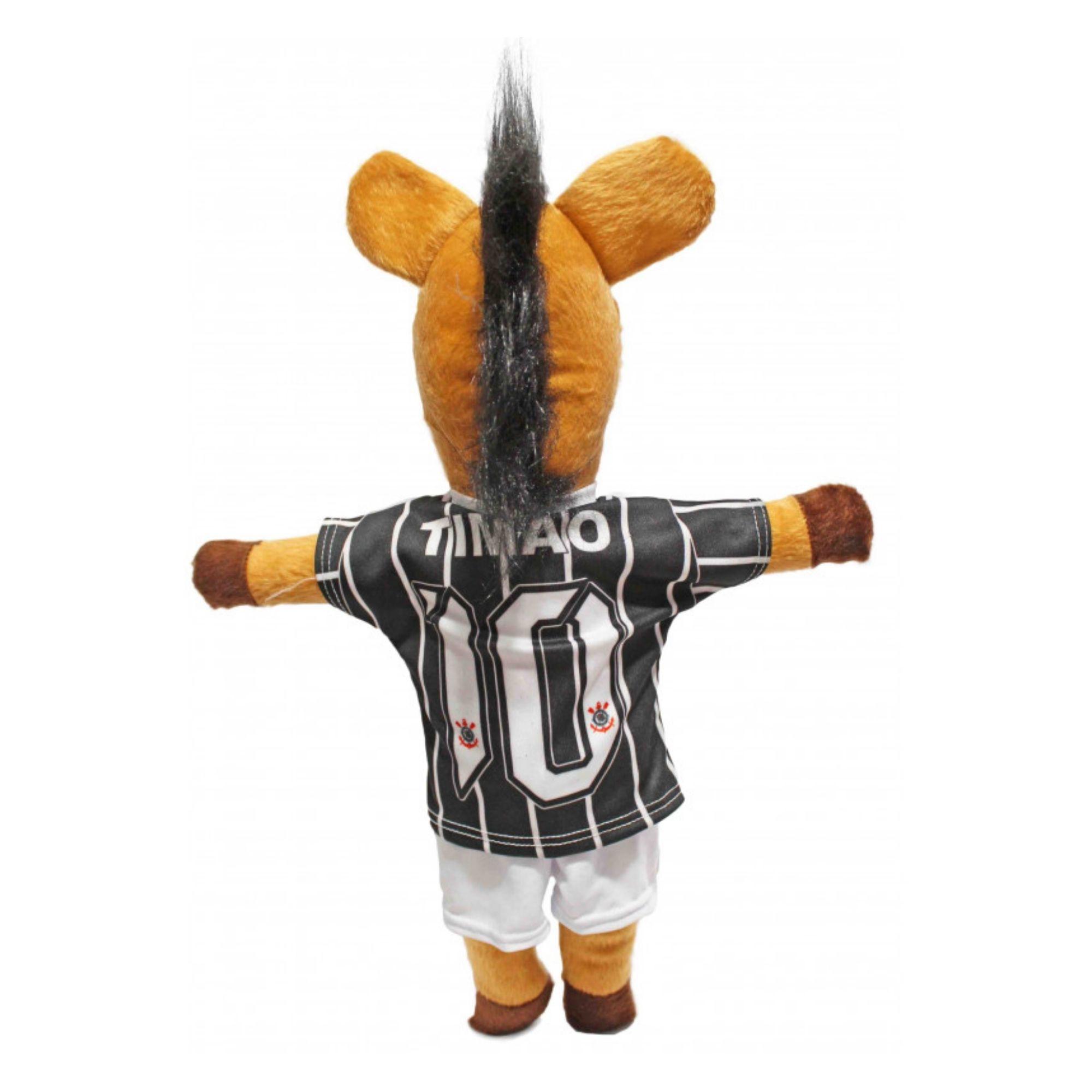 Cavalinho do Timão do Time Corinthians Pelucia  - Game Land Brinquedos