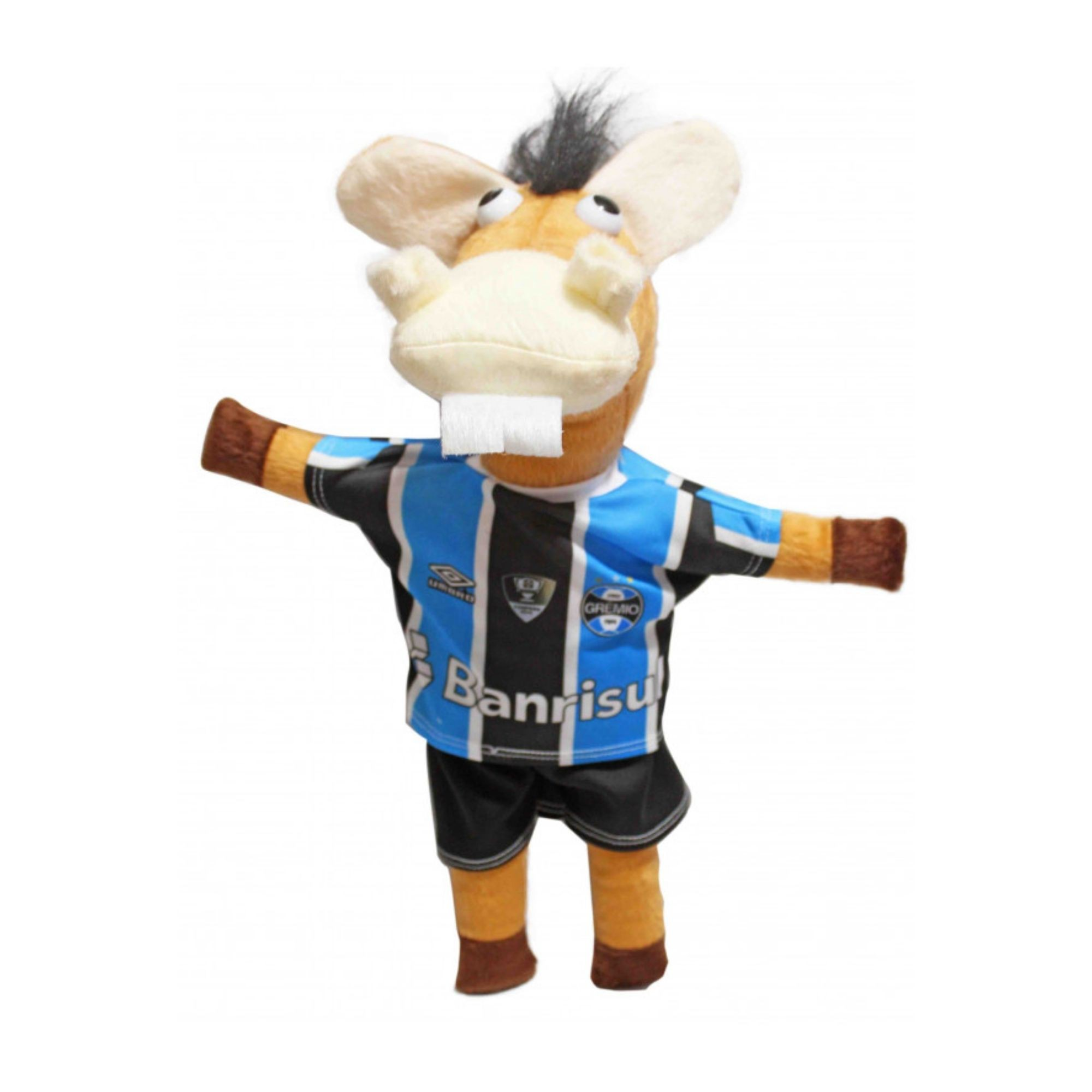 Cavalinho Imortal do Time do Grêmio Pelucia  - Game Land Brinquedos