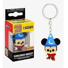 Chaveiro Exclusivo Disney Sorcerer Mickey Aprendiz de Feiticeiro  - Game Land Brinquedos