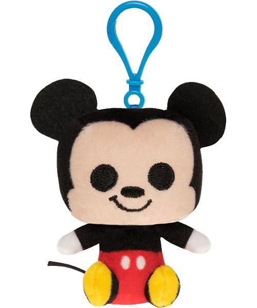 Chaveiro Funko Pelucia Disney Mickey para mochila  - Game Land Brinquedos
