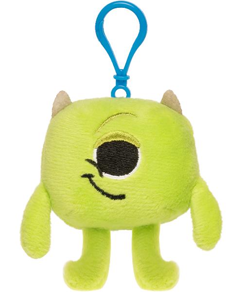 Chaveiro Funko Pelucia Pixar Monstros S.A. Mike para mochila  - Game Land Brinquedos