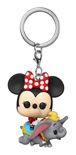 Chaveiro Funko Pop Pocket Disney Minnie Mouse & Dumbo #5727  - Game Land Brinquedos