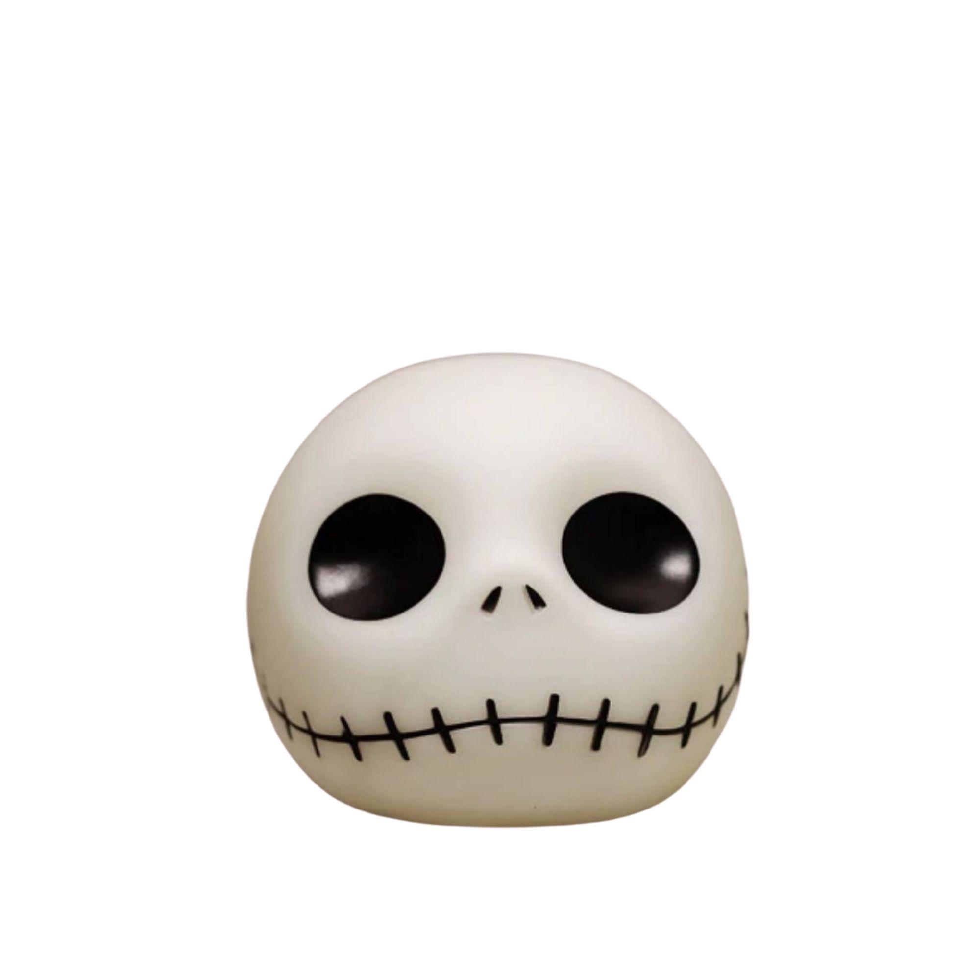 Jack Skellington Cofre Cabeça Decoração Geek Personagem Tim Burton  - Game Land Brinquedos