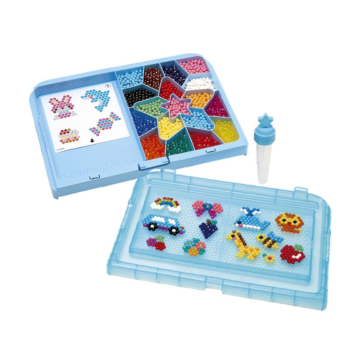 Combo Aquabeads Meu Primeiro Atelie + Conjunto de Aneis  - Game Land Brinquedos